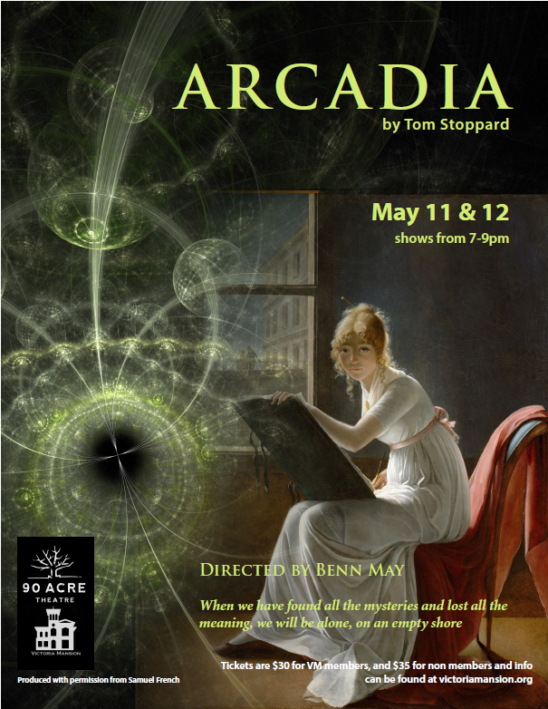 90 Acre Theatre Presents Arcadia At Victoria Mansion Victoria Mansion