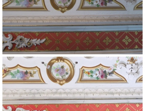 Conservation of the Interior: Ongoing Work in the Mansion's Parlor