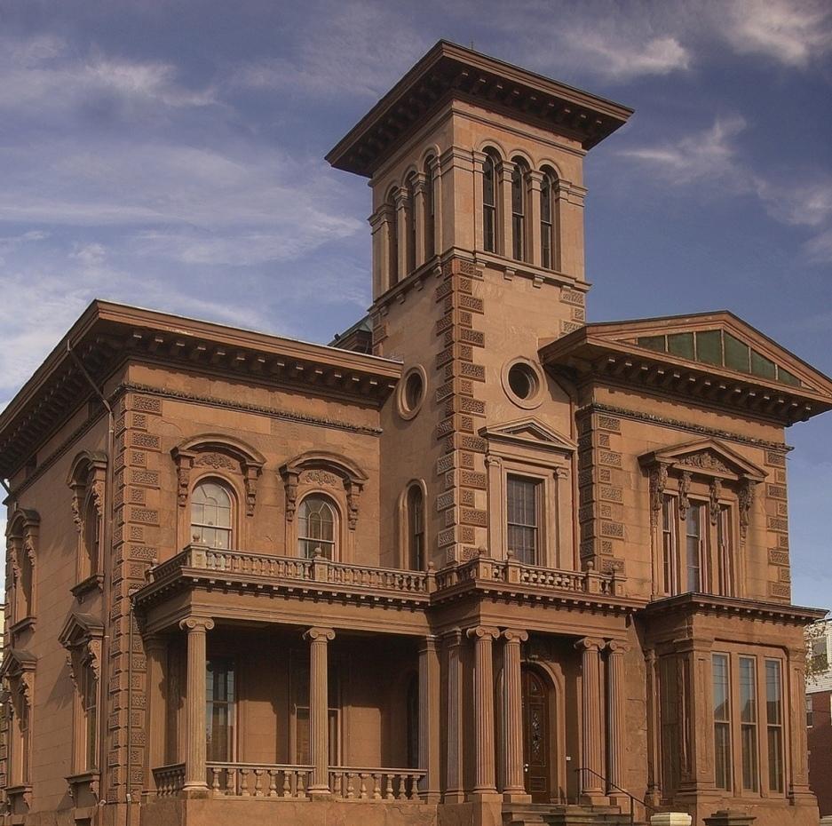 Victoria Mansion in Portland, Maine