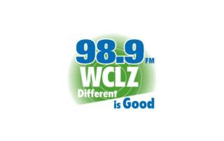 90.8 FM WCLZ Different is Good logo