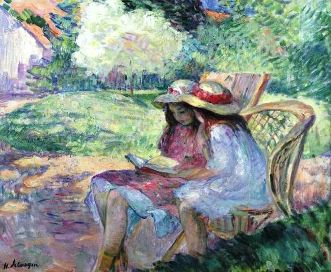 painting by H. Lebasque